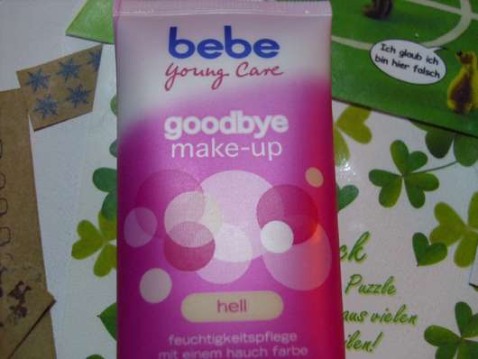 bebe Young Care goodbye make-up (hell)