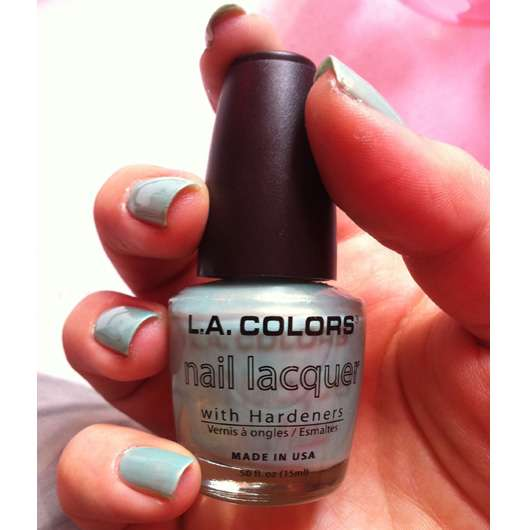 L.A. Colors Nail Lacquer, Farbe: 272 Sea Green