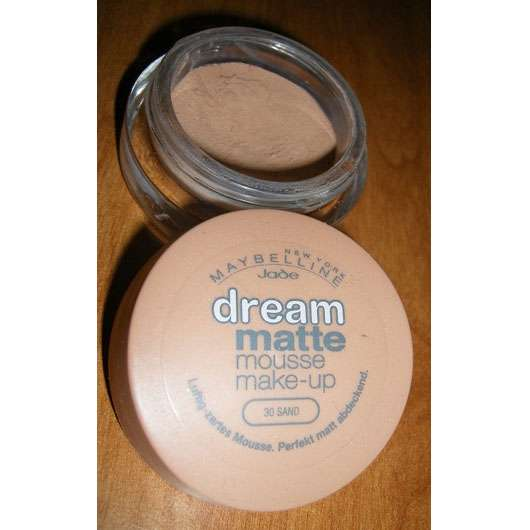 Maybelline Jade Dream Matte Mousse Make-Up, Farbe: 30 Sand