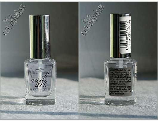 p2 nail art top coat