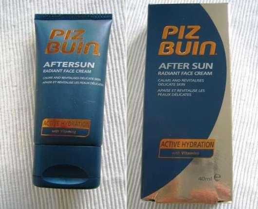 Piz Buin After Sun Radiant Face Cream