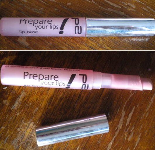p2 prepare your lips lip base