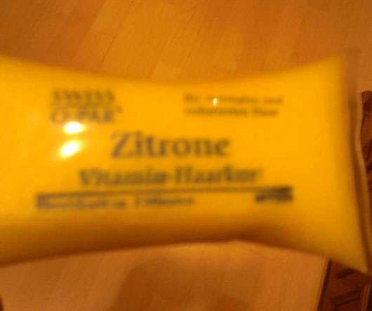 Swiss O Par Vitamin Haarkur Zitrone