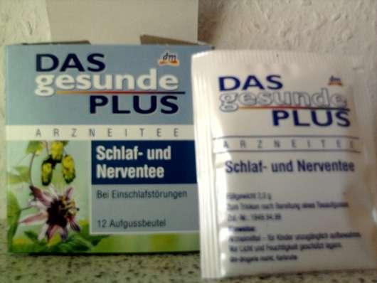 Das gesunde Plus Arzneitee Schlaf- und Nerventee