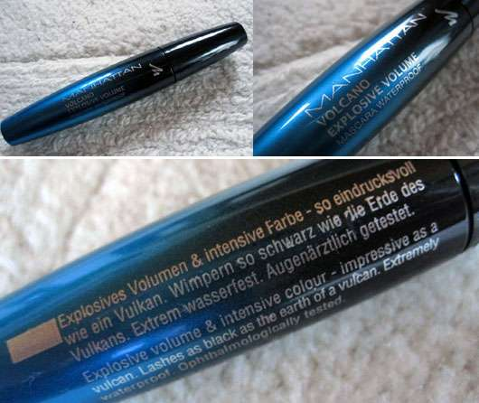 Manhattan Volcano Explosive Volume Mascara Waterproof