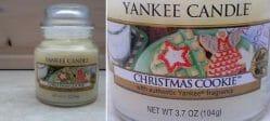 Produktbild zu Yankee Candle Christmas Cookie Duftkerze