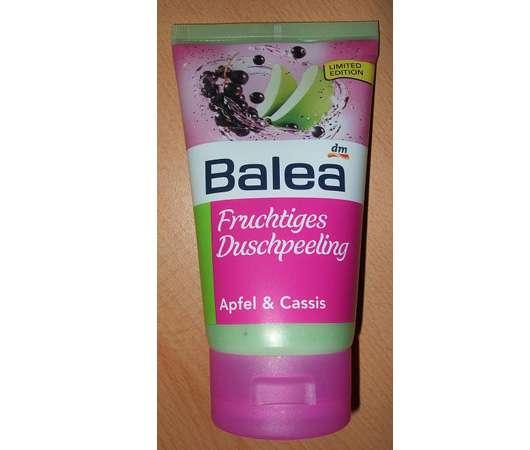 Balea Fruchtiges Duschpeeling Apfel & Cassis LE