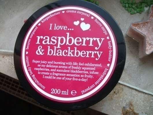 I Love… Raspberry & Blackberry Bodybutter
