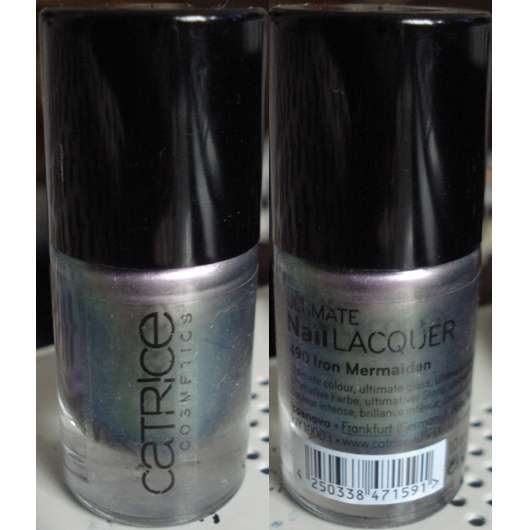 Catrice Ultimate Nail Lacquer, Farbe: 490 Iron Mermaiden