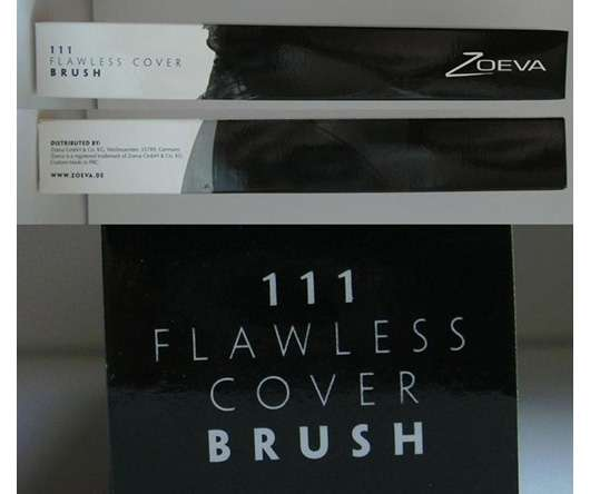 Zoeva 111 Flawless Cover Brush