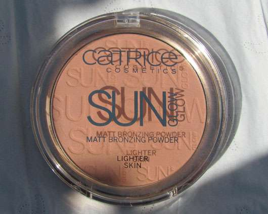 Catrice Sun Glow Matt Bronzing Powder – Lighter Skin, Farbe: 01 light bronze