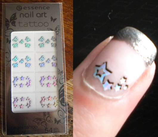 essence nail art tattoos