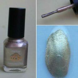 Produktbild zu LCN Nail Polish – Farbe: Gold