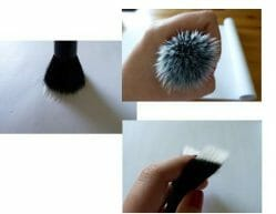 Produktbild zu Kosmetik Kosmo Duo Fibre Pinsel Stinktier