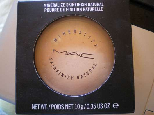 M.A.C. Mineralize Skinfinish Natural, Farbe: Light