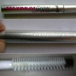 Produktbild zu p2 cosmetics maximum grow lash serum
