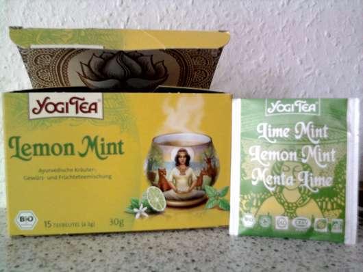 Yogi Tea Lemon Mint
