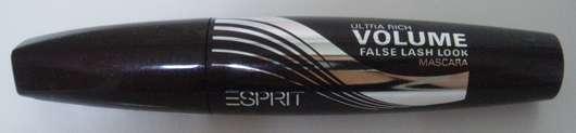 Esprit cosmetics Ultra Rich Volume False Lash Look Mascara, Farbe: 001 Black