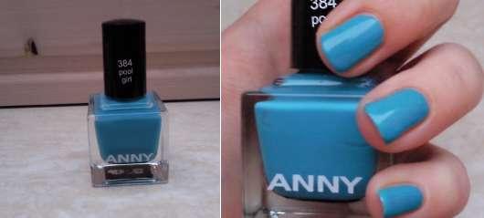 ANNY Nail Polish, Farbe: 384 Pool Girl