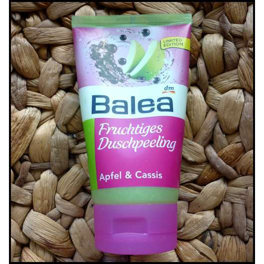 Balea Fruchtiges Duschpeeling Apfel & Cassis (Limited Edition)