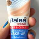 Balea Young Soft & Clear Mattierendes Make-up, Farbe: 02 Beige
