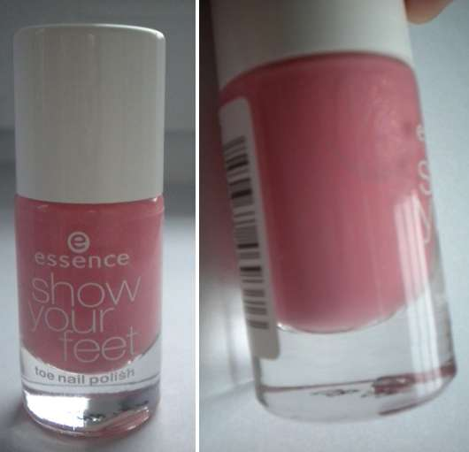 <strong>essence show your feet</strong> toe nail polish - Farbe: 15 flamingo rose