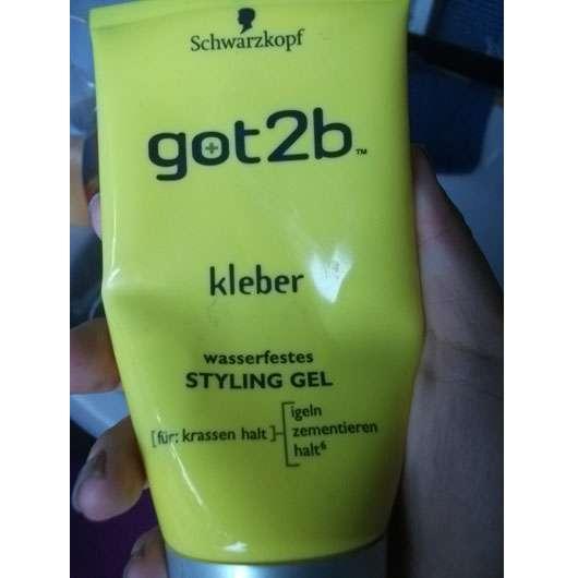 "Schwarzkopf got2b ""Kleber"" wasserfestes Styling Gel"