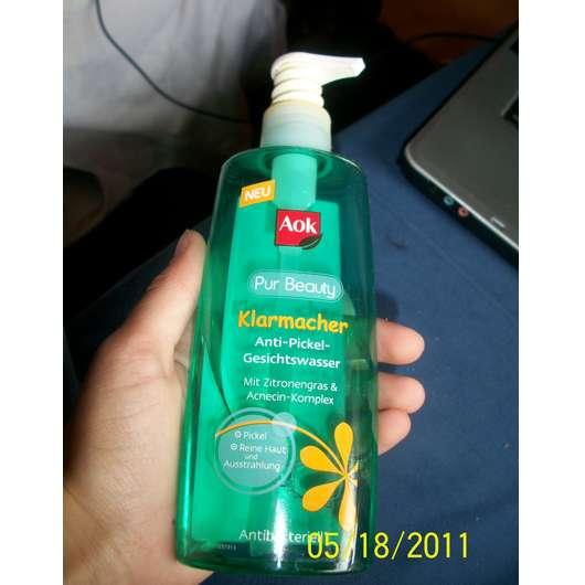 <strong>Aok Pur Beauty</strong> Klarmacher Anti-Pickel-Gesichtswasser
