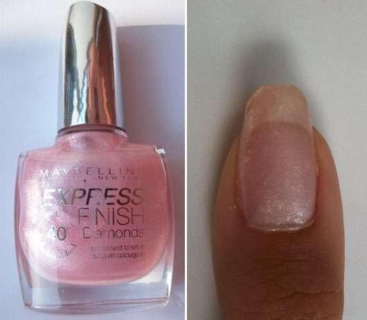 Maybelline Express Finish Diamonds Nail Polish, Farbe: Pink Diamonds 541/135D