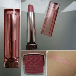 Produktbild zu Maybelline New York Color Sensational Lipstick – Farbe: 832 Kiss Pearl