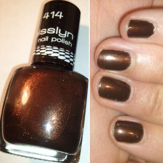 Misslyn Nagellack, Farbe: 414 Copper Twist