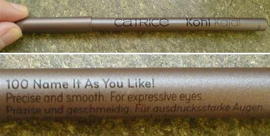 Catrice Kohl Kajal, Farbe: 100 Name It As You Like