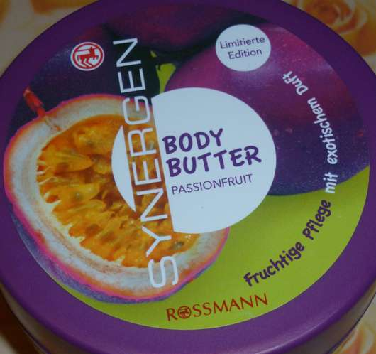 Synergen Body Butter Passionfruit (Limited Edition)