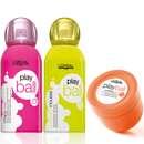 """L'Oréal Professionnel play.ball """"crispy curl"""", """"supersize mousse"""" & """"working gum"""""""