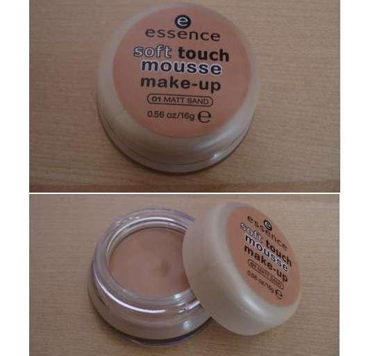 essence soft touch mousse make up, Farbe: 01 matt sand