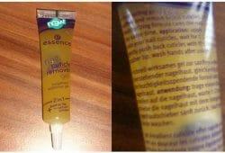 Produktbild zu essence nail cuticle remover gel