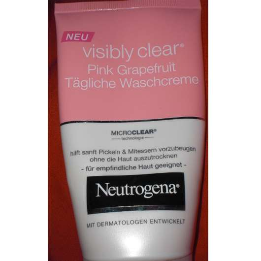 Neutrogena Visibly Clear Pink Grapefruit Tägliche Waschcreme