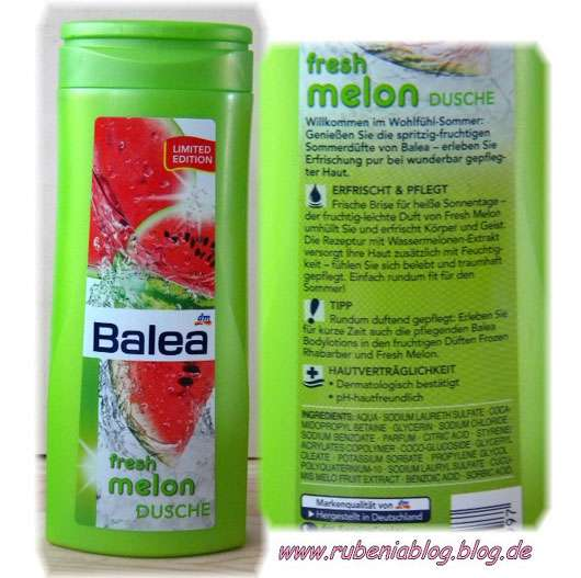 "Balea ""fresh melon"" Dusche (Limited Edition)"
