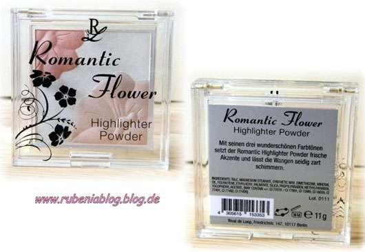 Rival de Loop Romantic Flower Highlighter Powder (Limited Edition)