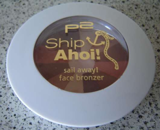 p2 ship ahoi! sail away! face bronzer, Farbe: 010 before sunrise (Limited Edition)