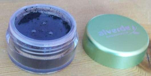 alverde Mineral Lidschatten, Farbe: 06 Carbon Black