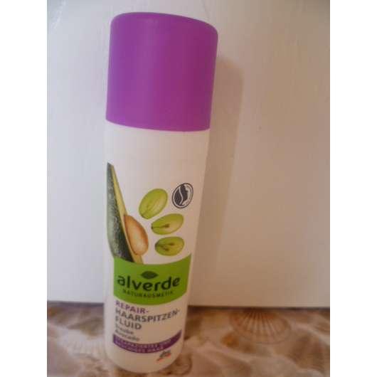 alverde Repair Haarspitzenfluid Traube & Avocado