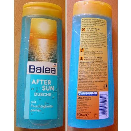 Balea After Sun Dusche mit Feuchtigkeitsperlen