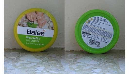 Balea Wellness Fuß Butter Grapefruit und Minze