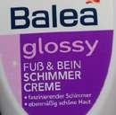 """Balea """"glossy"""" Fuß & Bein Schimmer Creme"""