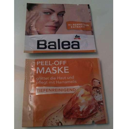"Balea Peel-Off Maske ""Tiefenreinigend"""