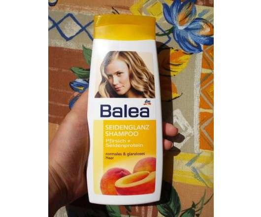 Balea Seidenglanz Shampoo mit Pfirsich + Seidenprotein