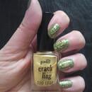 p2 crackling top coat, Farbe: 030 golden rush