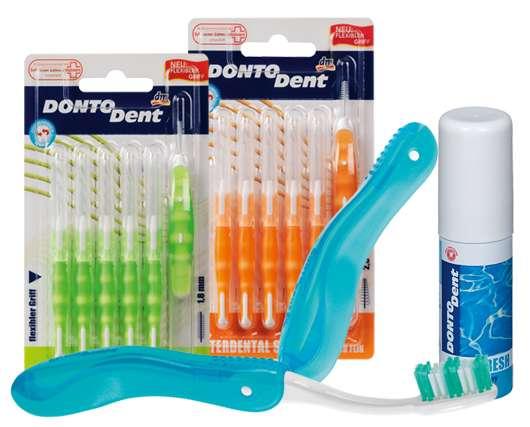 Mit DONTODENT unterwegs – gepflegte Zähne rund um die Uhr
