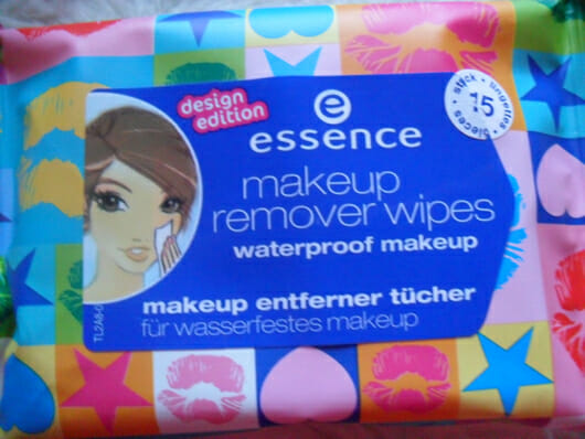 essence makeup remover wipes – waterproof makeup (design edition)